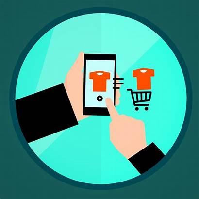 Website Icon Cartoon Consumer Customer Shopping Clip