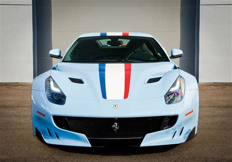 this ferrari f12 takes the whole tour de france thing