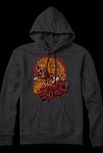 Beasting and Feasting Pullover Hoodie (Heather Charcoal ...