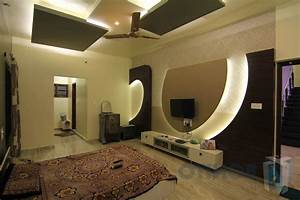 Bedroom: Ceiling Design And Bedroom Tv Unit Design With ...