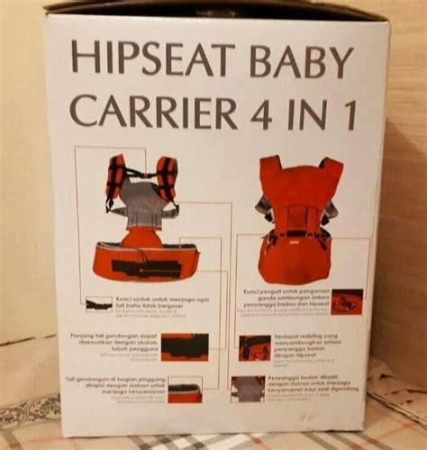 Kiddy Hiprest Hipseat Baby Carrier info harga hiprest hipseat kiddy baby carrier 4 in 1