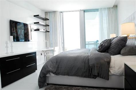 black and gray room black and white decorating ideas for bedrooms