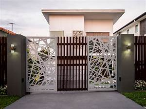 Contemporary Gate Designs For Homes - Best Home Design