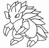 Pokemon Coloring Sandshrew Kleurplaat Pintar Sandslash Coloriage Froakie Sand Imprimer Coloriages Morningkids Colorir Kleurplaten Desenhos Sketch Credit Larger sketch template