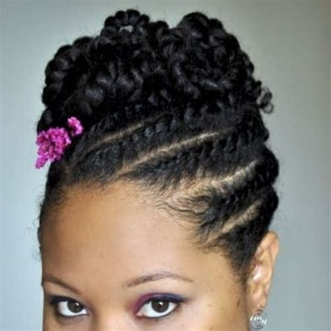 Flat Twist Ponytail Hairstyles by 50 Ingenious Flat Twist Hairstyles My New Hairstyles