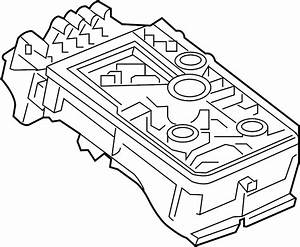 Chevrolet Cruze Fuse And Relay Center  Engine Compartment
