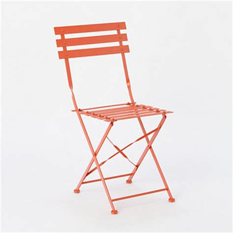 painted metal bistro chair modern outdoor lounge