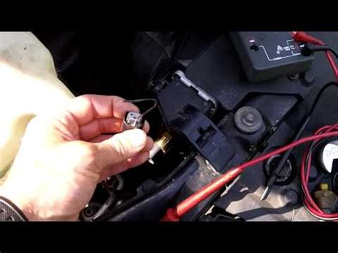 bmw e36 auxiliary fan not working how to test install fan switch on car bmw youtube