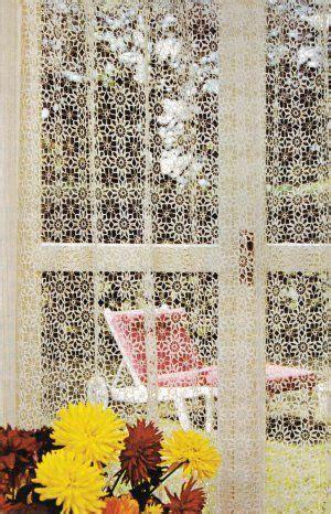 d馮lacer en cuisine les 68 meilleures images du tableau perdele draperii ornamente sur crochet napperons au crochet et rideaux en crochet