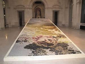 Tapis Grand Format : patrick norguet r invente le tapis grand format ~ Teatrodelosmanantiales.com Idées de Décoration