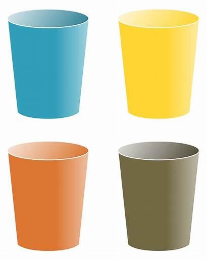 Cups Clipart Cartoon Cliparts Cup Clip Transparent