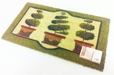 Topiary Doormat by Topiary Design Coir Pvc Backed Door Mat Plant 40cm X 70cm