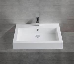 Aufsatzwaschbecken 60 Cm : wandwaschbecken aufsatzwaschbecken bs6049 60 x 48 x 14cm badewelt waschbecken wandwaschbecken ~ Indierocktalk.com Haus und Dekorationen