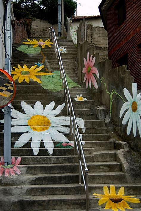 street art  stairs  beautiful examples