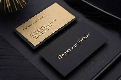 examples  luxury business card templates psd word