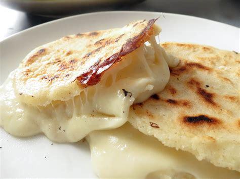 cheese stuffed colombian arepas olivias cuisine