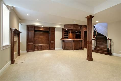 kitchen color schemes with wood cabinets basement finishing ideas archives home renovation team