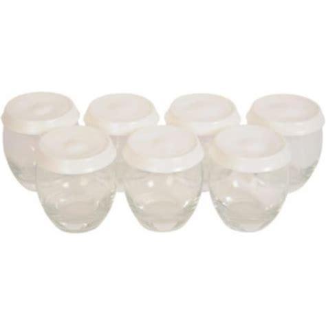 pot yaourtiere seb classic pot 224 yaourt seb x7 pots en verre couvercle pour classic accessoire robot de cuisine sur boulanger