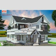 1500 Sq Ft, Modern Style Home Design