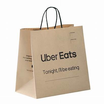 Bags Paper Uber Eats Shopping Delivery Bag