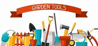 Garden Tools Gardening Vector Clip Banner Business