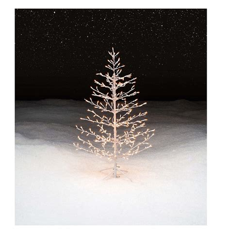 Prelit Stick Christmas Tree Decoration Elegant And