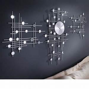Moderne Wanduhren Design : dekoracyjny zegar cienny 3 elementy sklep ~ Markanthonyermac.com Haus und Dekorationen