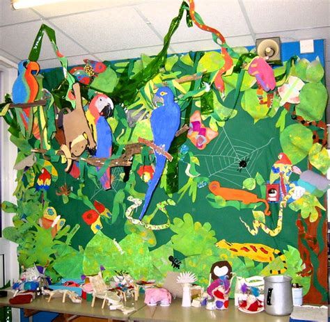 forest animals preschool theme rainforest displays for year 4 classroom displays 891