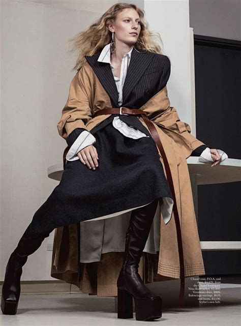 julia nobis suits vogue australia december issue