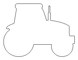 tractor template to print tractor pattern pre k classroom ideas tractor patterns and template