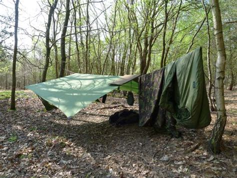 A Bushcraft Camping Outfit  Equipment For Living In The Woods