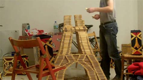 An Eiffel Tower made from Kapla Blocks | The Kid Should ...
