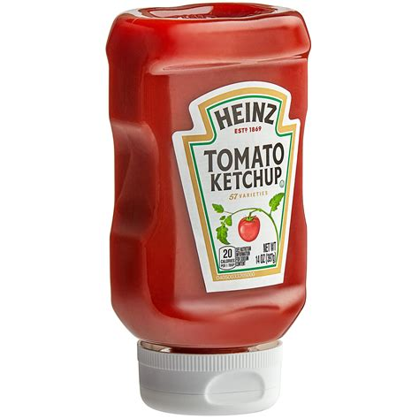 Heinz Upside Down Ketchup Squeeze Bottle (14 oz.)