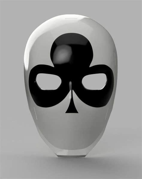 wild card masks fortnite stl files etsy  images