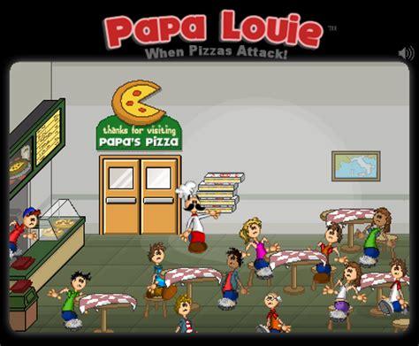 jeux de cuisine pizza papa louis elasticpop le culturel