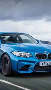 壁纸 宝马M2跑车F87蓝色车速度 3840x2160 UHD 4K 高清壁纸, 图片, 照片
