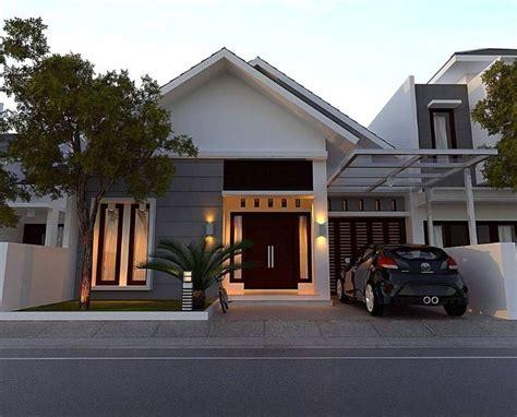 desain rumah minimalis modern  lantai  terbaru