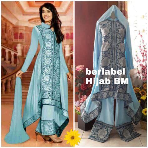 Setelan Baju Maxi Terbaru jual setelan baju india terbaru baju muslim terbaru