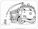 Pixar Auta Disneyclips Edek Filmu Carscoloring Drukowanka Edka Funstuff sketch template