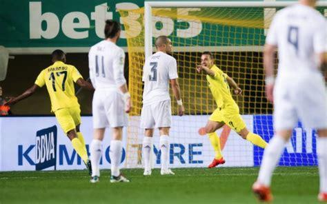 Villarreal 1-0 Real Madrid: Robert Soldado goal video