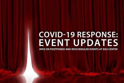 Rescheduled Events Postponed Covid Eku