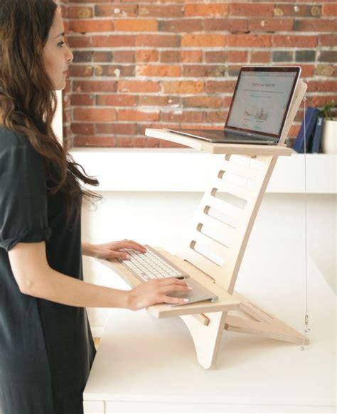 simple adjustable portable standing desks