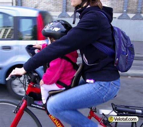 siege weeride les articles de vélotaf essai weeride siège enfant sur