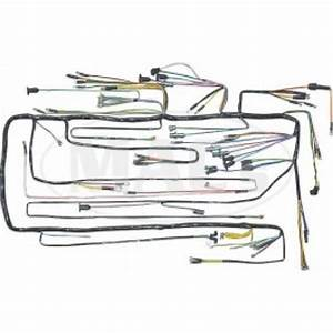 Ford Thunderbird Dash Wiring Harness  Pvc Wire  For Cars With Generator  U0026 Oil Lights  1955