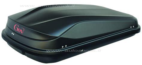 Box Portatutto Auto Gev by Baule Da Tetto Gev Easy 320 9017 Grigio Autoshock