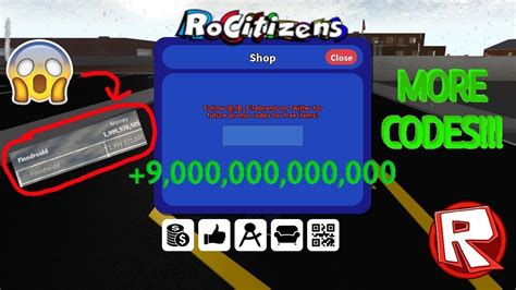 roblox rocitizens  codes  february