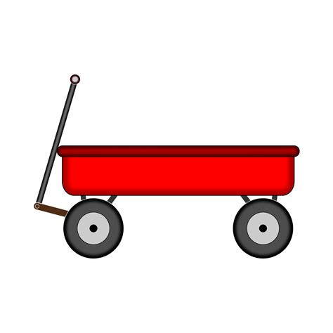 Wagon Clip by Wagon Vector Clipart Image Free Stock Photo