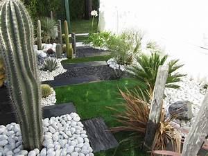 Achat Vinaigre Blanc En Gros : cr ation d 39 un jardin sec allauch vert tige ~ Melissatoandfro.com Idées de Décoration
