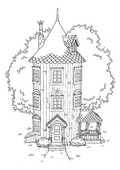 moomin coloring pages    print