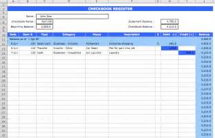 Ms Excel Templates Checkbook Register Template Microsoft Excel Templates